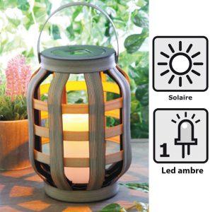Lanterne solaire Groove 23cm - AIC International