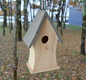Wood birdhouse Alouette FSC® certified 100%