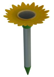 Chasse taupe solaire tournesol