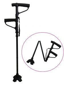 Adjustable double handle cane - AIC International