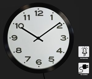 Lighting RC clock  Ø33 cm - AIC International