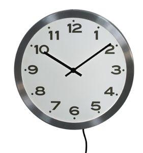 Lighting RC clock  Ø33 cm