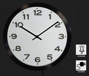 Lighting RC clock  Ø33 cm - AIC International