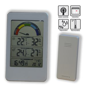 Digital solar thermo-hygro - AIC International