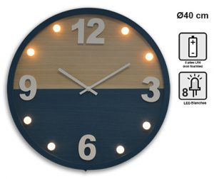 Horloge Lumia Ø40cm - AIC International