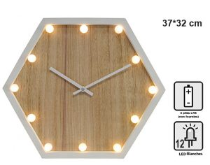 Horloge lumineuse Véga - AIC International