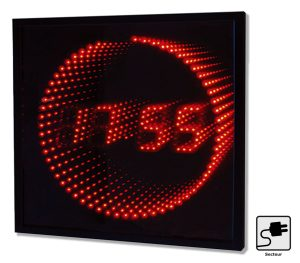 Red LED clock - AIC International