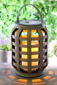 Solar lantern Aurea 23 cm - AIC International