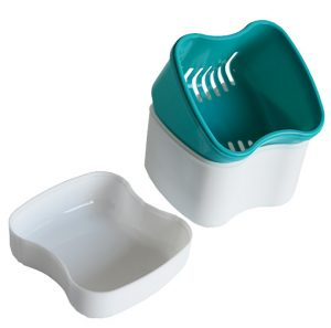 Boîte à dentier avec panier - AIC International