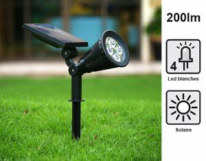 Spot solaire 100-200lm Elio - AIC International
