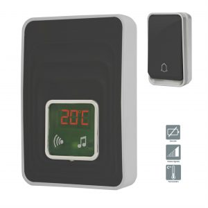 Wireless chime without battery - AIC International