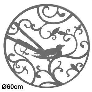 Panneau métal décoratif Ø60cm - AIC International