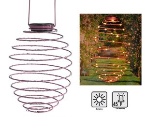 Déco solaire spirale Infinty - AIC International