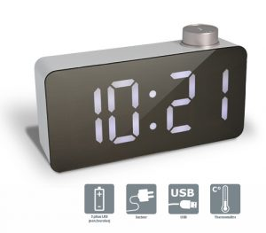 LED alarm clock MEMPHIS - AIC International