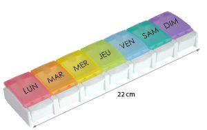 Pilulier Ergonomique et Facile - AIC International