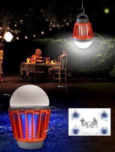 Ampoule anti-moustique Nomadis