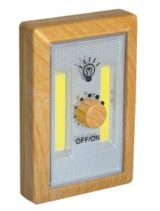 Wood LED night light with dimmer - AIC International