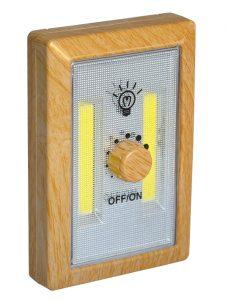 Veilleuse LED à variateur bois - AIC International