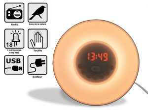 Wake up Light with radio Serenity - AIC International