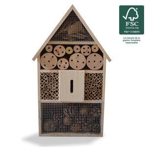 Hôtel à insectes 48cm FSC® certifié 100% - AIC International