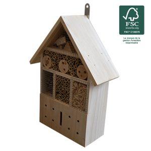 Hôtel à insectes 36cm FSC® certifié 100% - AIC International