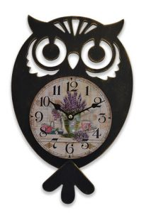 Horloge » Chouette» à balancier - AIC International