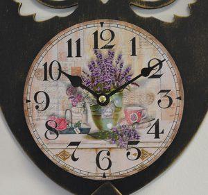Horloge » Chouette» à balancier