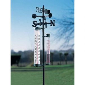 Outside rain gauge thermometer - AIC International