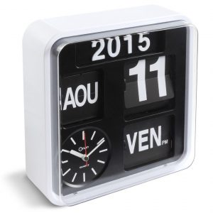 Horloge calendrier Flip Flap - AIC International