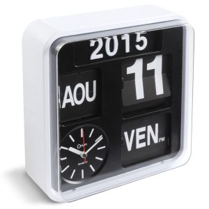 Horloge calendrier Flip Flap - AIC International