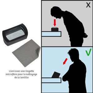 XL magnifying glass