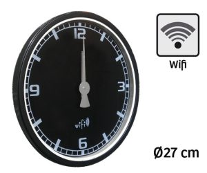Horloge Wifi Iclock Ø27 cm - AIC International