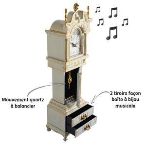 Horloge Constance avec mélodie - AIC International