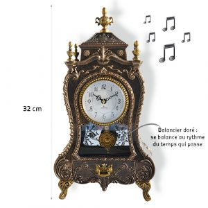 Horloge Marie-Ange avec mélodie - AIC International