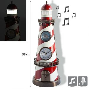 Horloge Phare Anatole avec mélodie - AIC International