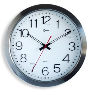 Inox waterproof clock Ø 35 cm - AIC International