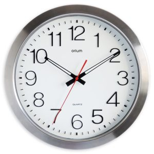 Inox waterproof clock Ø 35 cm - AIC International