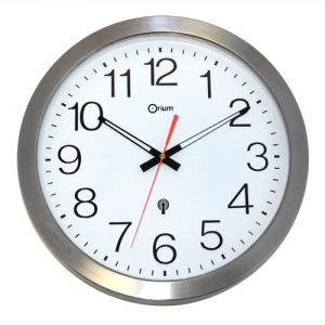 Inox RC clock waterproof Ø35 DCF - AIC International