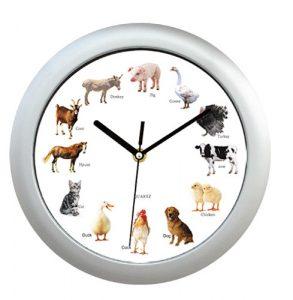 Pendule animaux de la ferme - AIC International