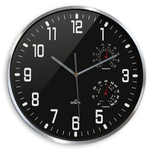 Horloge thermo-hygro Ø30cm - AIC International