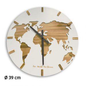 Horloge Bois Mundo Ø39cm - AIC International