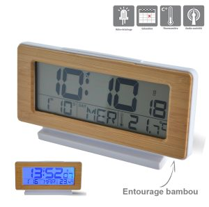 Alarm clock RC with automatic lighting - AIC International