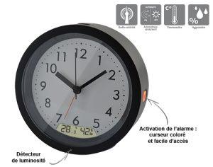 Analogic alarm clock with date RC - AIC International