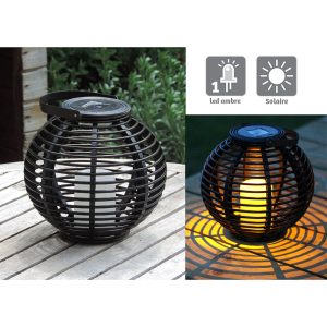 Braided lantern  Ø 22.5 cm - AIC International