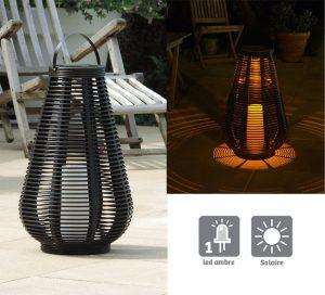 Lanterne tressée Ø38cm – H60cm - AIC International