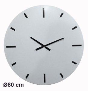 Horloge Métal White Ø80cm - AIC International
