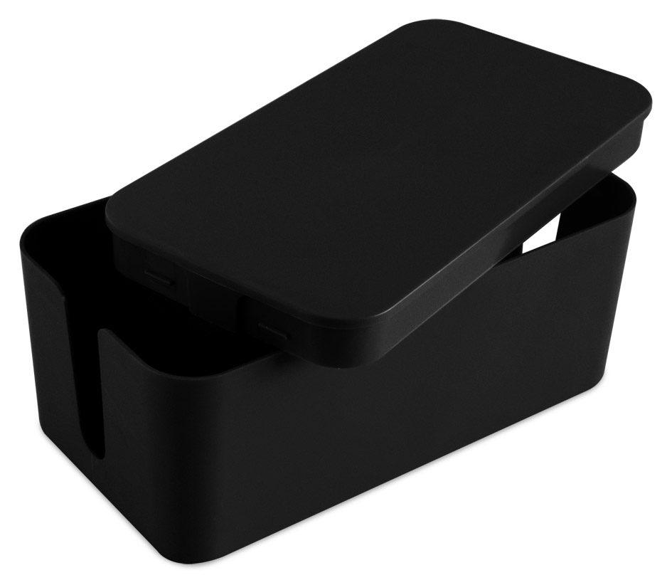 bo tier cache c bles noir aic international. Black Bedroom Furniture Sets. Home Design Ideas