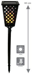 Flambeau solaire 51 LED Blaze - AIC International