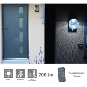 Wall solar light 160lm Bale - AIC International