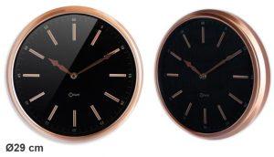 Horloge cuivrée  Ø29cm - AIC International